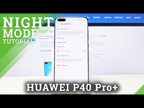 How to Activate Eye Protection Mode in HUAWEI P40 PRO+ - Eye Comfort Mode