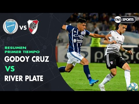 Resumen Primer tiempo: Godoy Cruz vs River Plate | Fecha 17 - Superliga Argentina 2019/2020