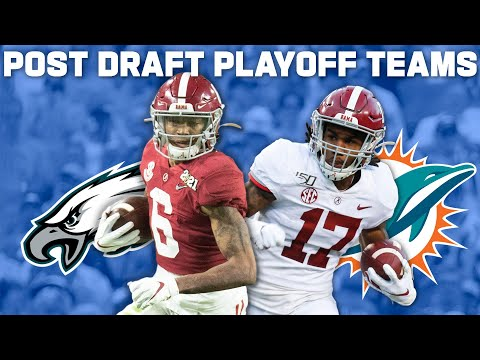 Teams with Top 10 Draft Picks that are Closest to Making Playoffs in '21