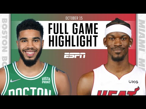 Boston Celtics at Miami Heat | Full Game Highlights