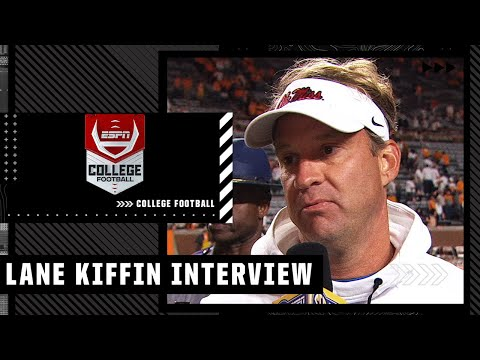 Lane Kiffin reacts to ending of Ole Miss vs. Tennessee | ESPN College Football