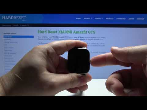 How to Force Restart in Xiaomi Amazfit GTS - Soft Reset Android Smartwatch