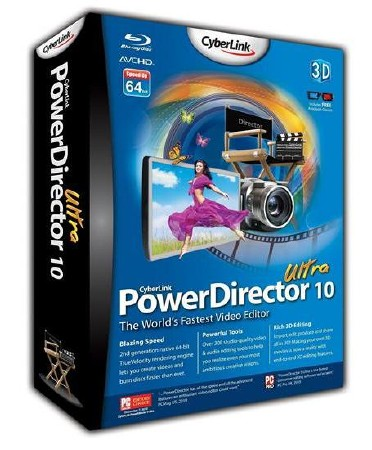 CyberLink PowerDirector Ultra 10.0.0.1424c (2012/Multi/RUS)