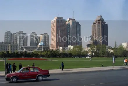 dalian city centre china