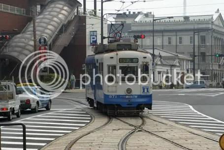nagasaki tram ourakaigandori
