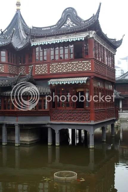 huxin ting teahouse shanghai china