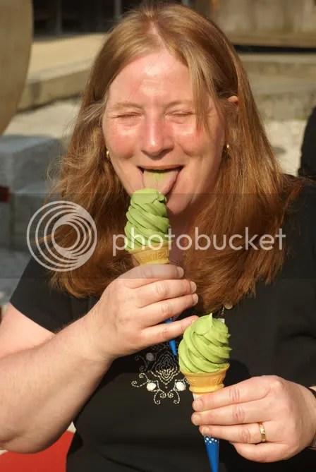 Kyoto green tea ice cream