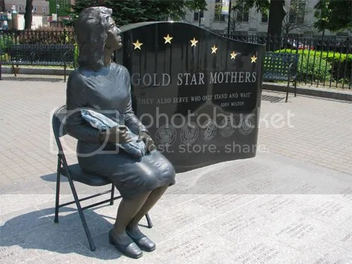 Gold Star Mother Monument