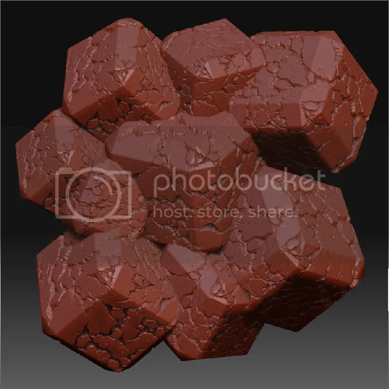 TUTORIAL – creating perfectly tiling meshes in Zbrush for use in