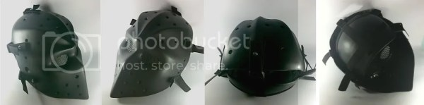 HEAT FLAT BLACK AIRSOFT PAINTBALL MASK / HOCKEY MASK