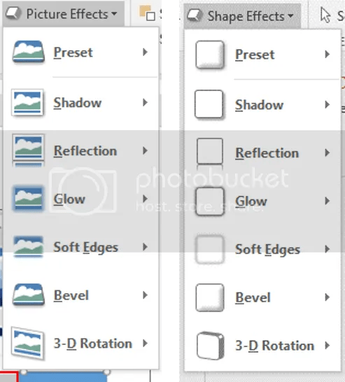 Figure 9. As usual, you can find them in Format tab. It will appear, once you've clicked the object/s.