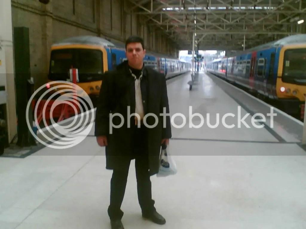 Στο σταθμό τρ�νων του Λονδίνου