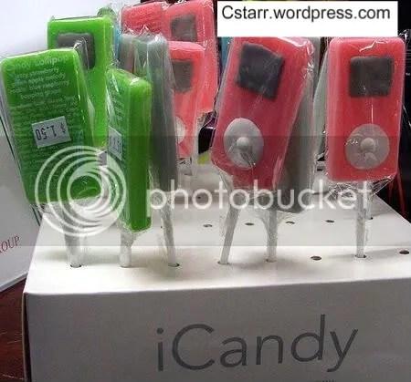 ipod candy