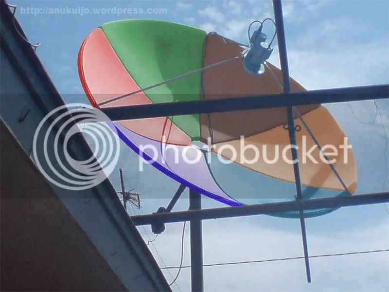 Parabolaku Penuh Warna
