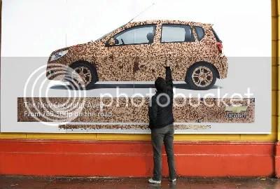 chevrolet penny billboard