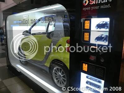 smart car vending