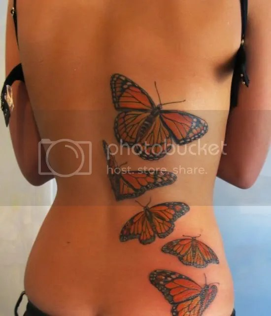 Foot Tattoo of Butterfly · Butterfly Tattoo Design