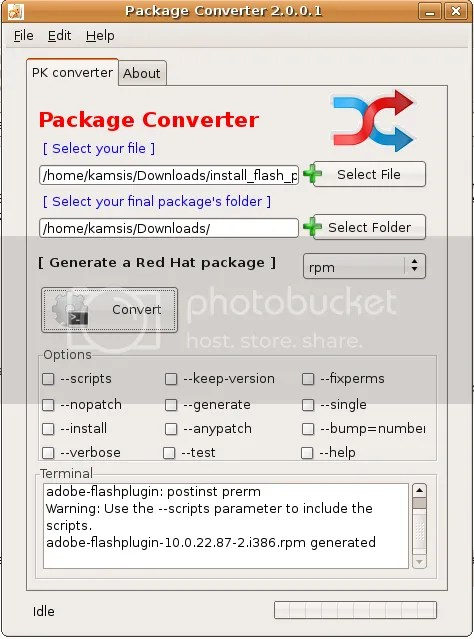 package-converter