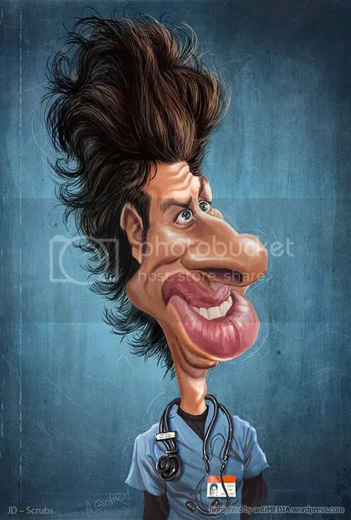 Anthony Geoffroy caricature
