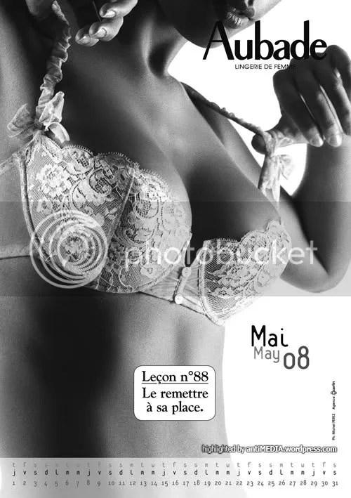 Aubade Calendar 2008