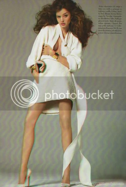 Miranda Kerr's 2,5D