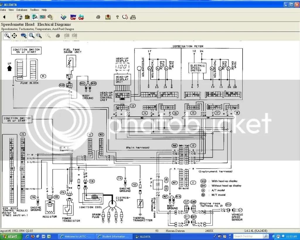 Manuals Diagrams 93 Nissan 240sx