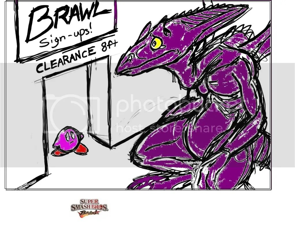 Is Ridley Too Big For SSB4 IGN Boards