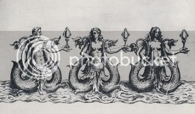 Three sirens from the Ballet Comique de la Reine