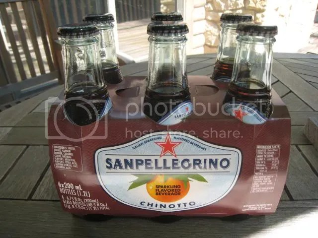 San Pellegrino Chinotto - The Kouros of Citrus Soft Drinks
