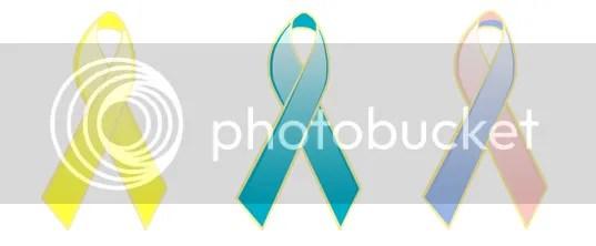 three important ribbons