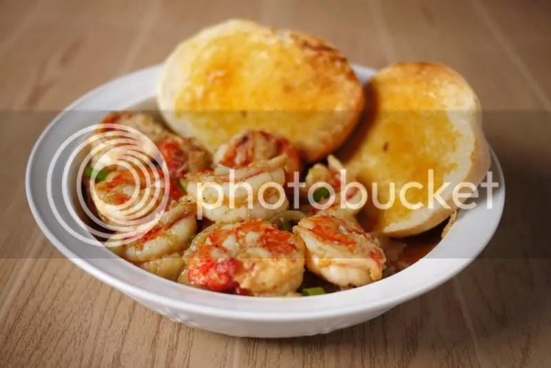 Gambas/Shrimps in Garlic Butter (2/6)