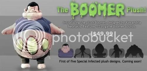 Boomer plush, Left 4 Dead toys