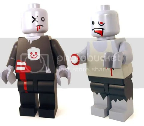 Lego zombies run!!!!