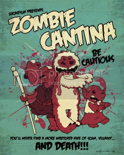Star Wars Zombie Cantina!..... Party!