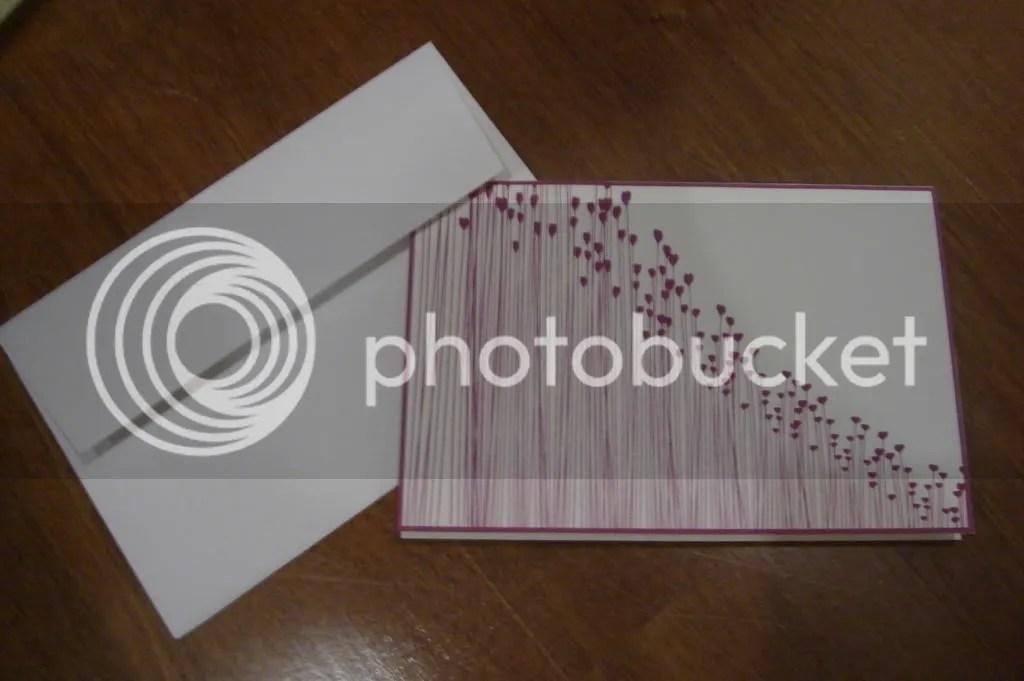 Heart Lalang card