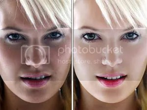 Whitening with Photoshop