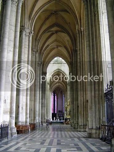 interior de la Catedral de Amiens