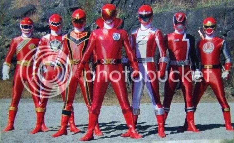 Super Sentai - AkaRed