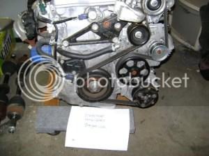 HOW to install serpentine belt  8th Generation Honda