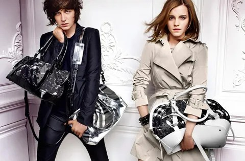 Emma Watson for Burberry ad campaign spring summer 2010