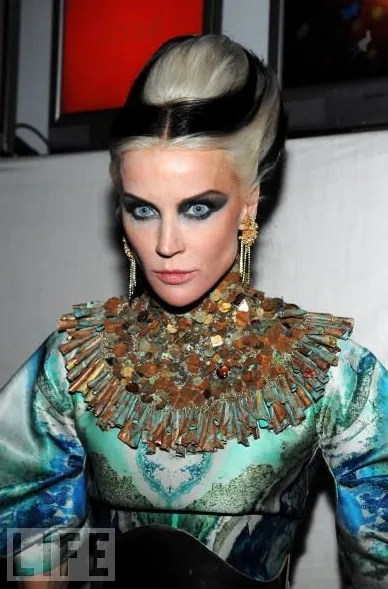 photo of Daphne Guinness at Nars 15x15 Launch