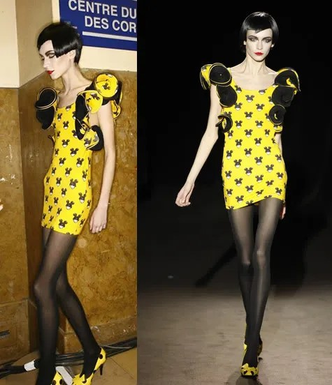 Lady Gaga Paparazzi Video dress from Jeremy Scott Fall/Winter 2009 worn by Inna Pilipenko