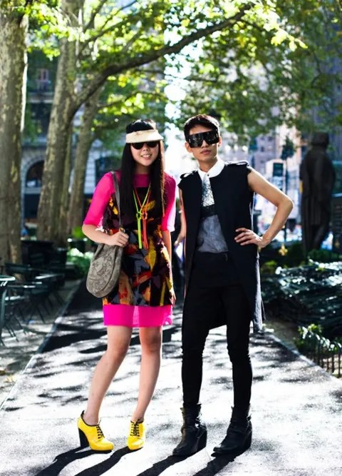 Fashion Bloggers Susie Bubble and Bryanboy