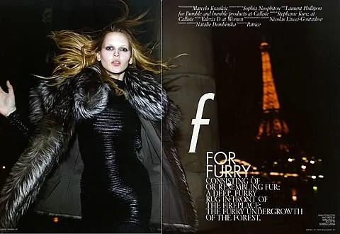 Valeria Dmitrienko at 10 Magazine