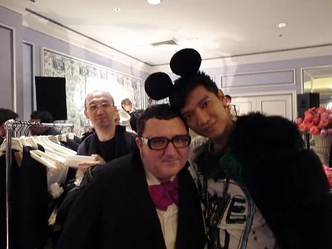 Alber Elbaz and Bryanboy