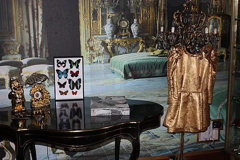 Anna Dello Russo Dolce & Gabbana dress
