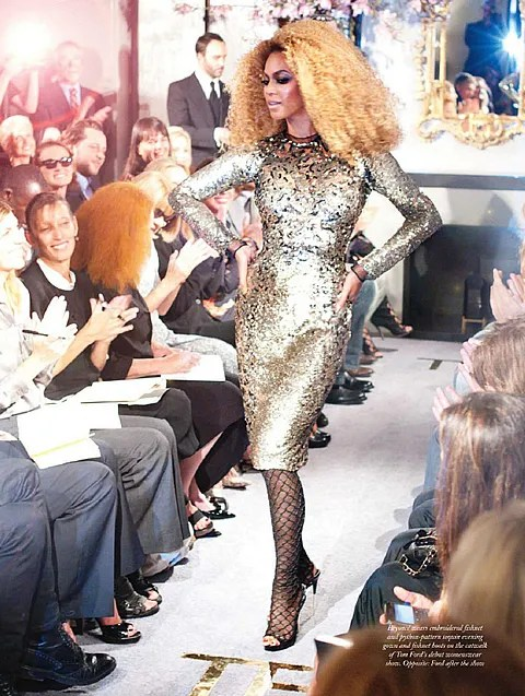 Beyonce for Tom Ford spring summer 2011
