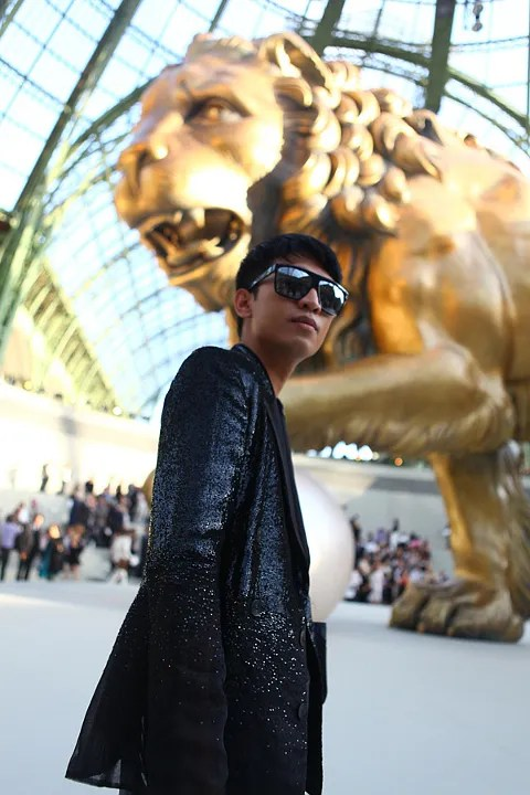Bryanboy at Chanel Haute Couture Fall Winter 2010