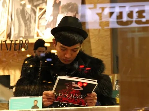 Bryanboy in Boston