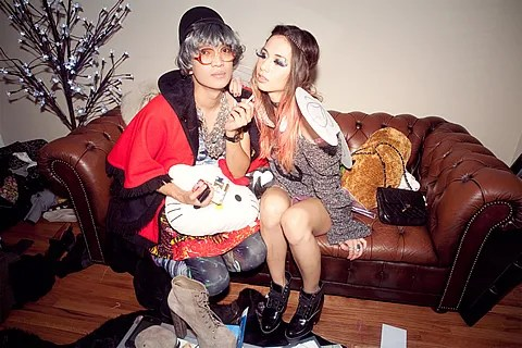 Bryanboy and Rumi Neely